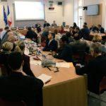 Première réunion du groupe d'amitié France-Chine