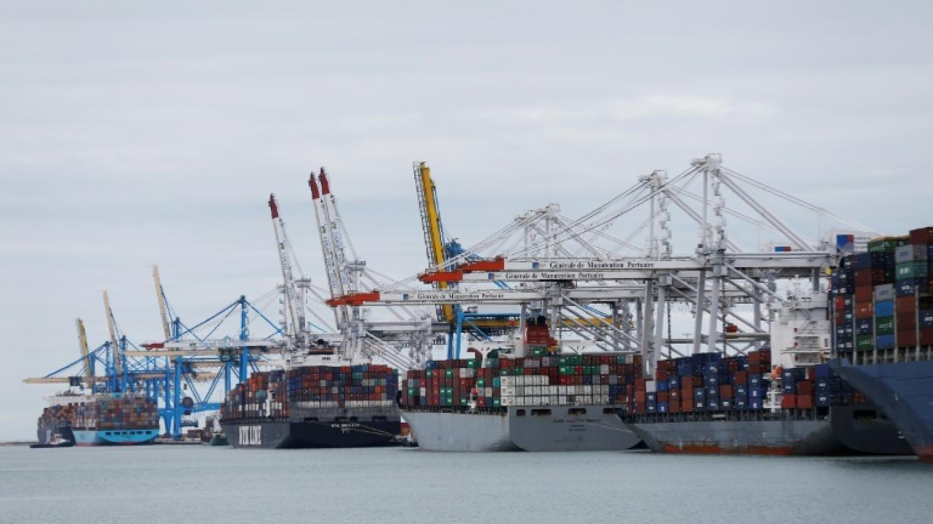 AFP/Archives / CHARLY TRIBALLEAU Le port du Havre (ouest), le 29 mars 2017